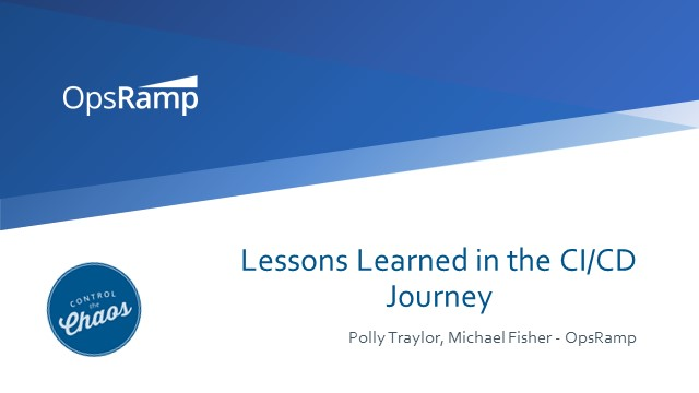 Lessons Learned in the CI/CD Journey