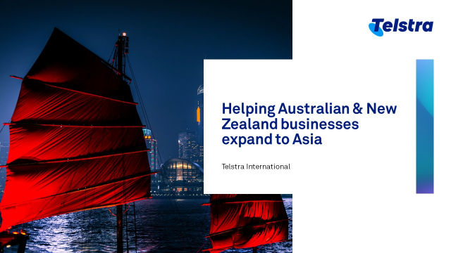 Helping Australian & New Zealand businesses expand to Asia