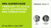 RPA Supervisor - Freedom to scale with automated RPA operations