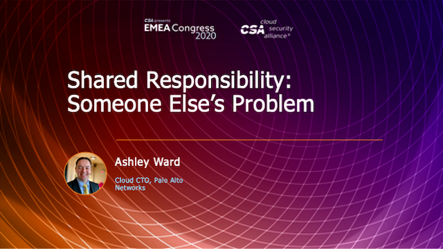 Shared Responsibility: Someone Else's Problem