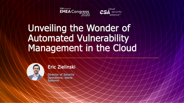 Unveiling the Wonder of Automated Vulnerability Management in the Cloud
