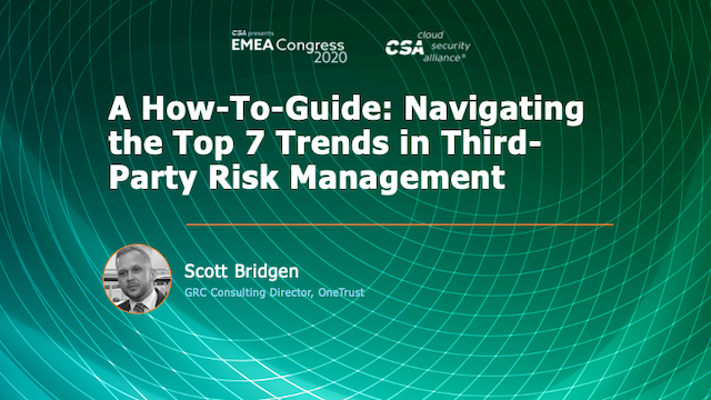 A How-To Guide: Navigating the Top 7 Trends in Third-Party Risk Management