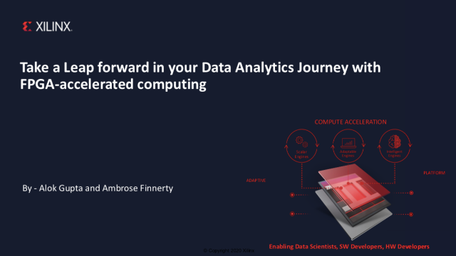 Super-charge your Data Analytics Journey with FPGA-accelerated computing
