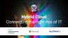 Hybrid Cloud – Connecting the right mix of IT