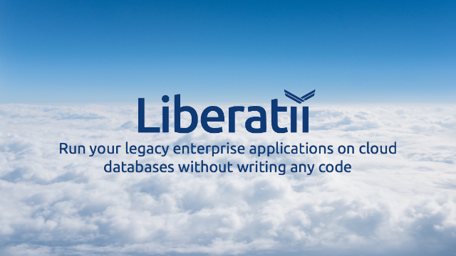 Run your legacy enterprise applications on cloud databases without writing code
