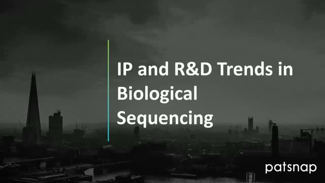 IP and R&D Trends in Biological Sequencing
