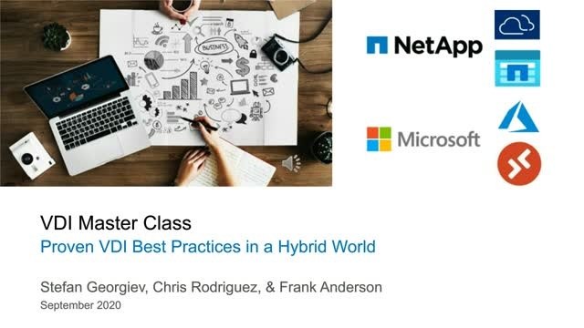 Proven VDI Best Practices in a Hybrid World