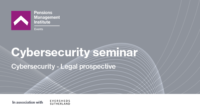 Cybersecurity - Legal perspective
