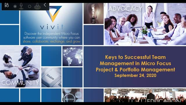Keys to Successful Team Management in Micro Focus Project and Portfolio Manageme