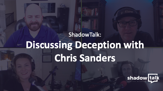 Podcast: Discussing Deception with Chris Sanders