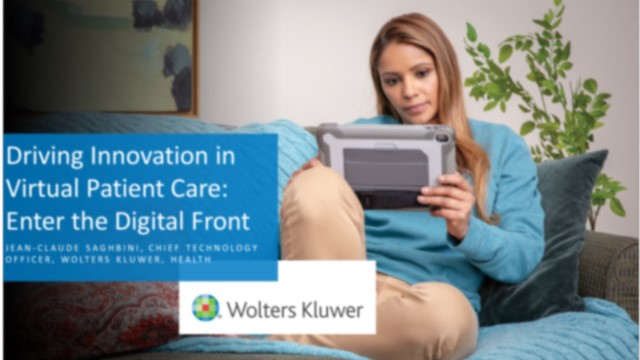 Driving Innovation in Virtual Patient Care: Enter the Digital Front Door
