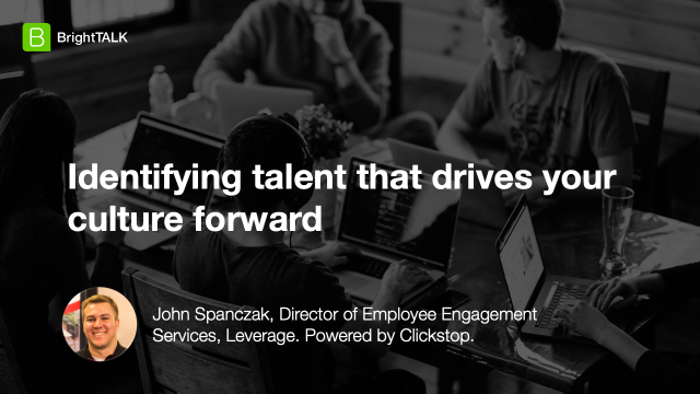 Identifying talent that drives your culture forward