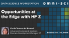 Opportunities at the Edge with HP Z Data Science Workstation