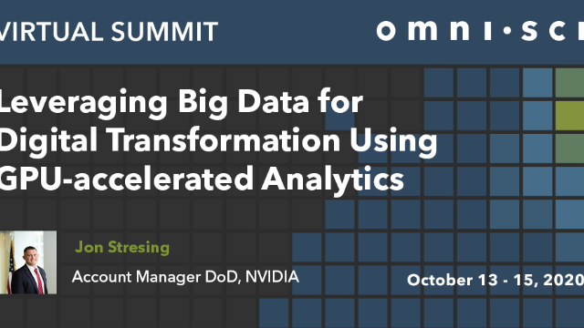 Leveraging Big Data for Digital Transformation Using GPU-accelerated Analytics