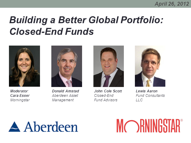 Building a Better Global Portfolio: Closed-End Funds