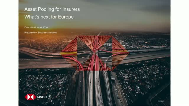 Securities Services – Asset Pooling for Insurers: What's next for Europe?