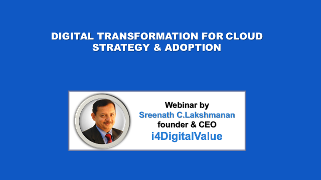 Digital Transformation for Cloud Strategy and Adoption