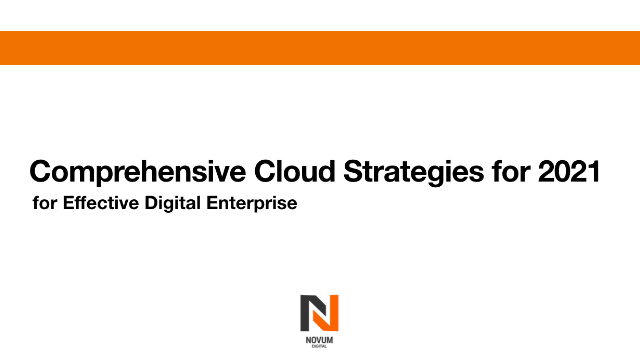 Comprehensive Cloud Strategy- Survive and Thrive in Uncertainty