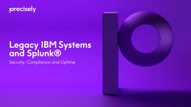 Legacy IBM Systems and Splunk: Security, Compliance and Uptime