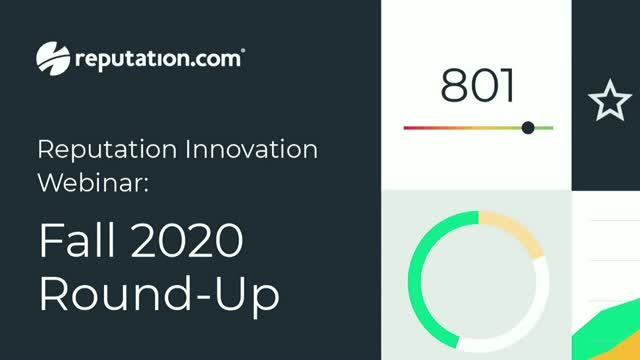 Reputation Innovation: Fall 2020 Round-Up