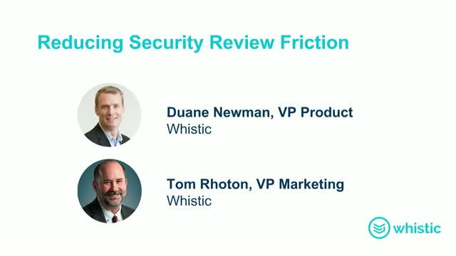 Reducing Security Review Friction