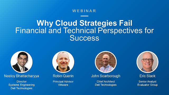 Why Cloud Strategies Fail: Financial and Technical Perspectives for Success