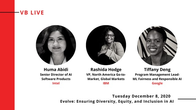 Evolve: Ensuring Diversity, Equity, and Inclusion in AI (VB Live)