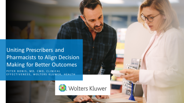 Uniting Prescribers and Pharmacists to Align Decision Making for Better Outcomes
