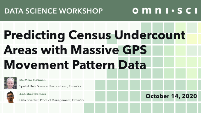 Predicting Census Undercount Areas with Massive GPS Movement Pattern Data
