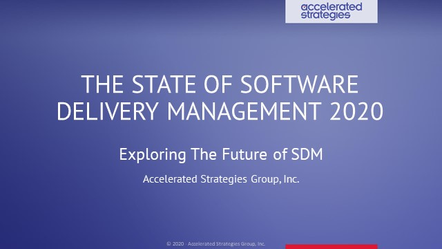 The State of Software Delivery Management: Exploring The Future of SDM