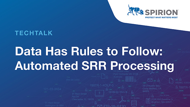 Data Has Rules to Follow: Automated SRR Processing