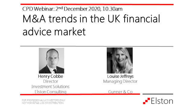 M&A trends in the UK financial advice market