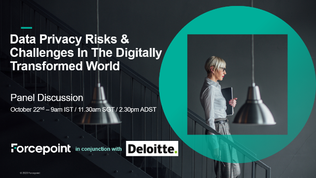 Data Privacy Risks & Challenges In The Digitally Transformed World