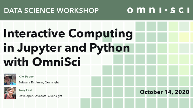 Interactive Computing in Jupyter and Python with OmniSci