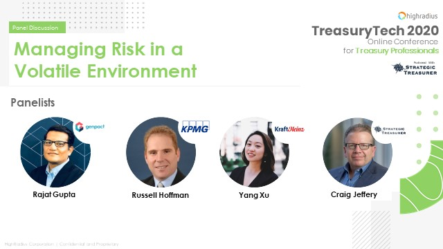 Managing Risk in a Volatile Environment
