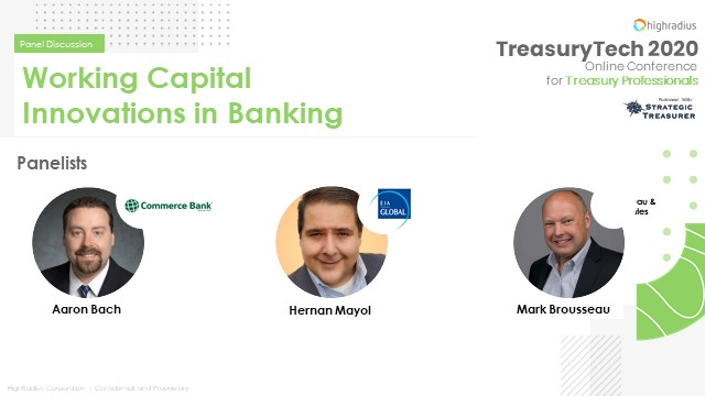Working Capital Innovations in Banking