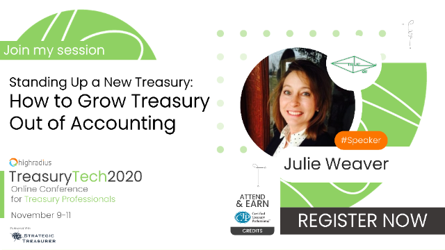 Standing Up a New Treasury: How to Grow Treasury Out of Accounting