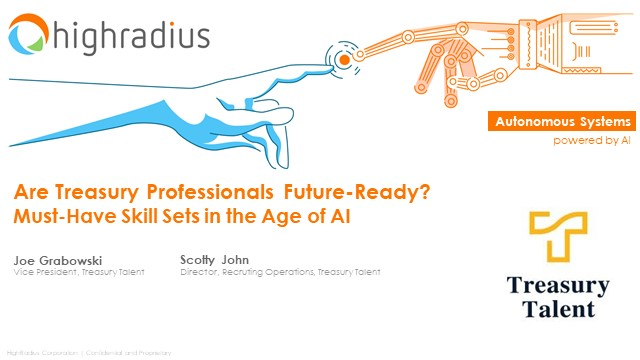 Are Treasury Professionals Future-Ready? Must-Have Skill Sets in the Age of AI
