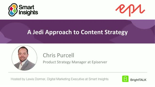 A Jedi Approach to Content Strategy