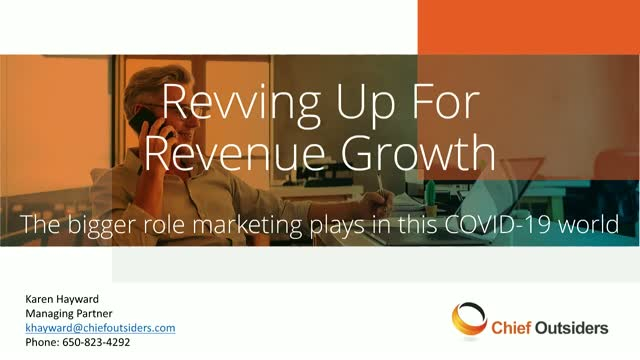 The Greater Role Marketing Needs to Play in a COVID-19 World