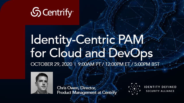 Identity-Centric PAM for Cloud and DevOps