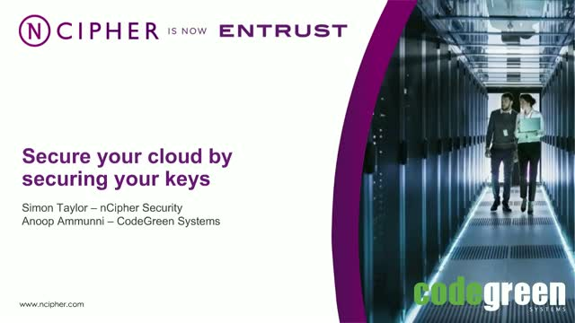 Secure your cloud by securing your keys
