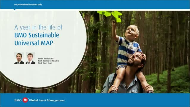 A year in the life of BMO Sustainable Universal MAP