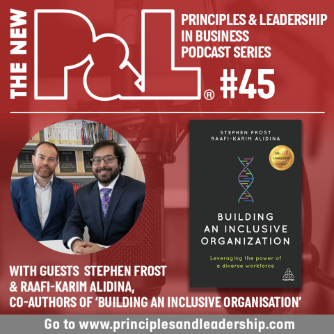 The New P&L speaks to the co-authors of 'Building an Inclusive Organisation'
