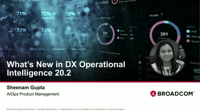 Discover What's New in DX Operational Intelligence