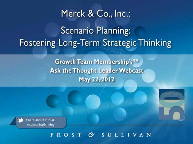 Scenario Planning: Fostering Long-Term Strategic Thinking
