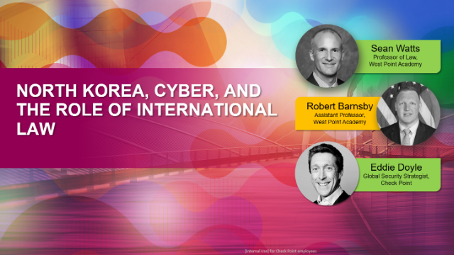 North Korea, Cyber, and the Role of International Law