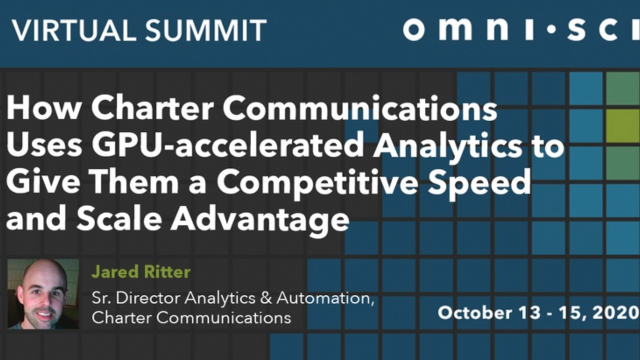 How Charter Uses GPU-accelerated Analytics to Give Them a Competitive Speed