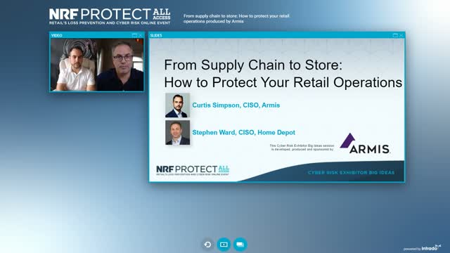 """From Supply Chain to Store: How to Protect Your Retail Operations."""" webinar for"""