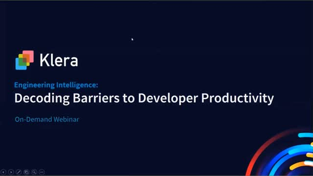 Engineering Intelligence – Decoding Barriers to Developer Productivity